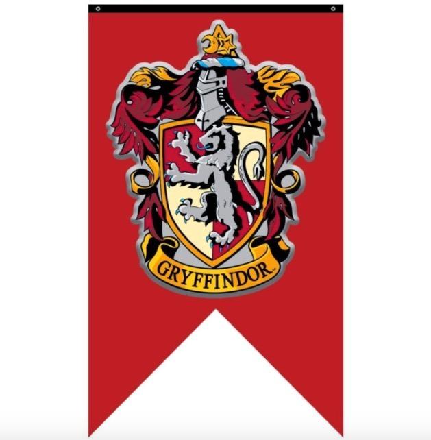 Harry potter banderas hogwarts poster xtrem en - Gryffindor crest high resolution ...