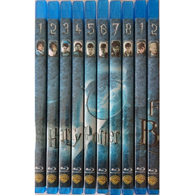 Harry Potter Bluray Latino Incluye Animales Fantasticos 1-2