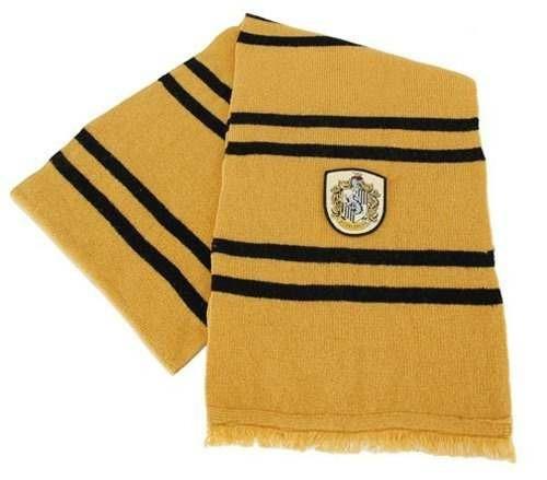 harry potter bufanda de las lanas deluxe casa hufflepuff