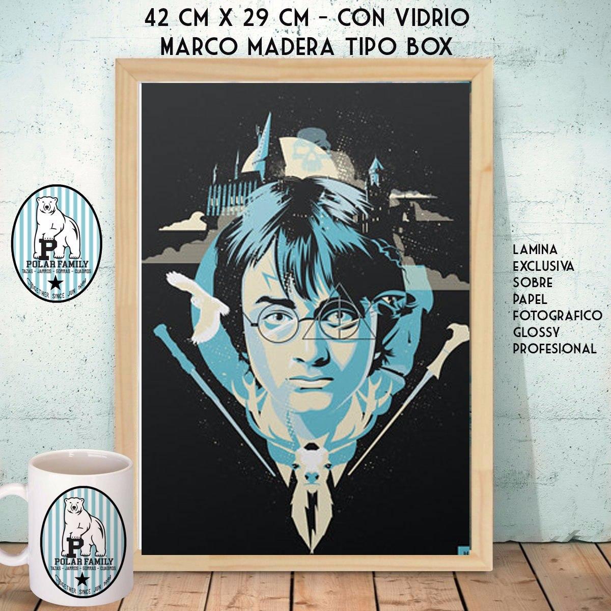 Harry Potter Cine Cuadros A3 Nordico Marco Box - $ 550,00 en Mercado ...