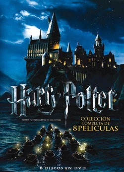 harry potter coleccion completa 8 dvd en box set original