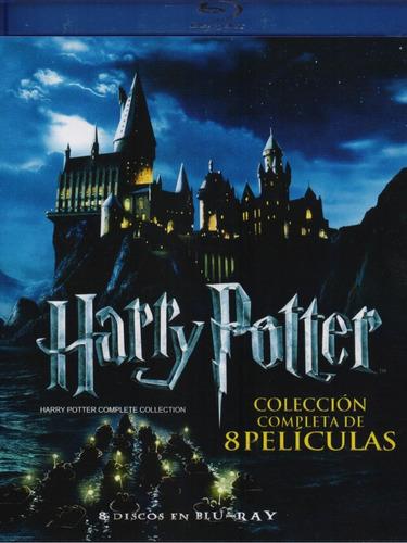 harry potter coleccion completa boxset 8 peliculas blu-ray
