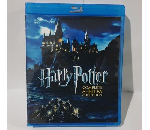 harry potter coleccion saga 8 peliculas bluray box
