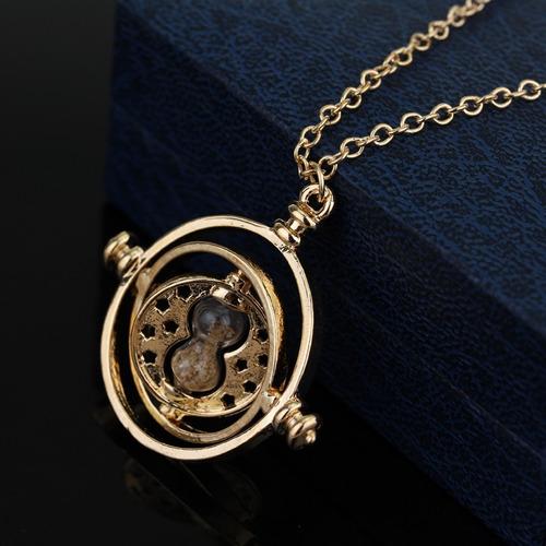 harry potter collar giratiempo hermione granger arena metal