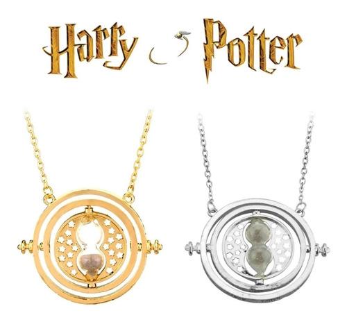 harry potter collar giratiempos hermione varita