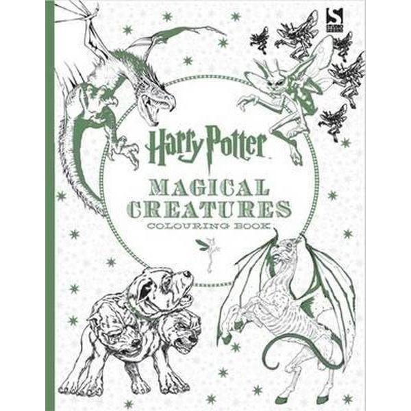 Harry Potter - Criaturas Mágicas - Libro Para Colorear - $ 10.000 en ...