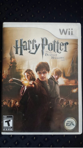 harry potter deatly hallows nintendo wii