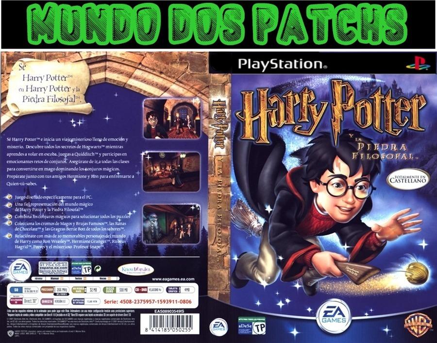 Harry Potter E A Pedra Filosofal Patch Ps1 Psx Psone Pc Ps2 R 17