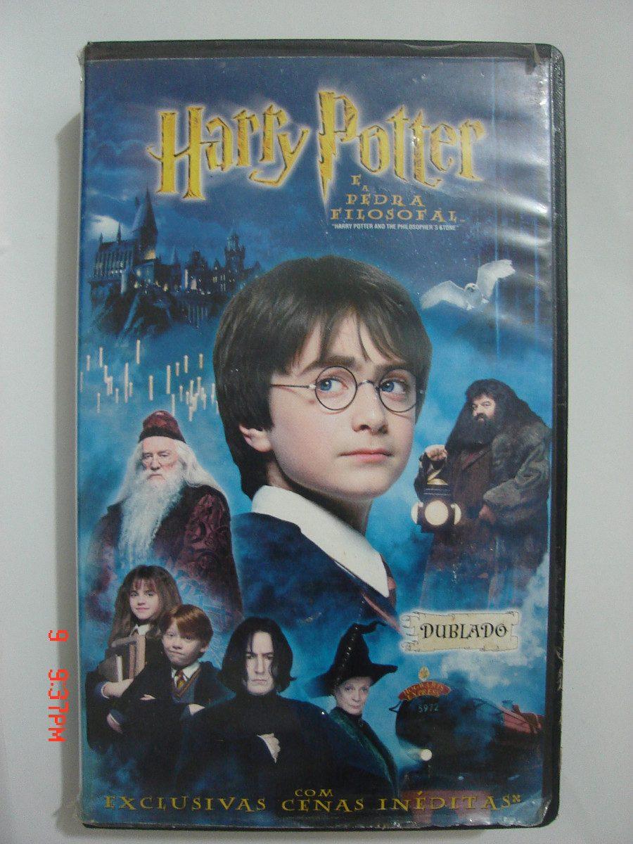 Harry Potter É A Pedra Filosofal regarding harry potter e a pedra filosofal vhs - r$ 49,00 em mercado livre