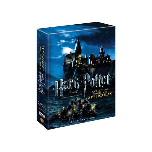 harry potter en español la colección completa en dvd