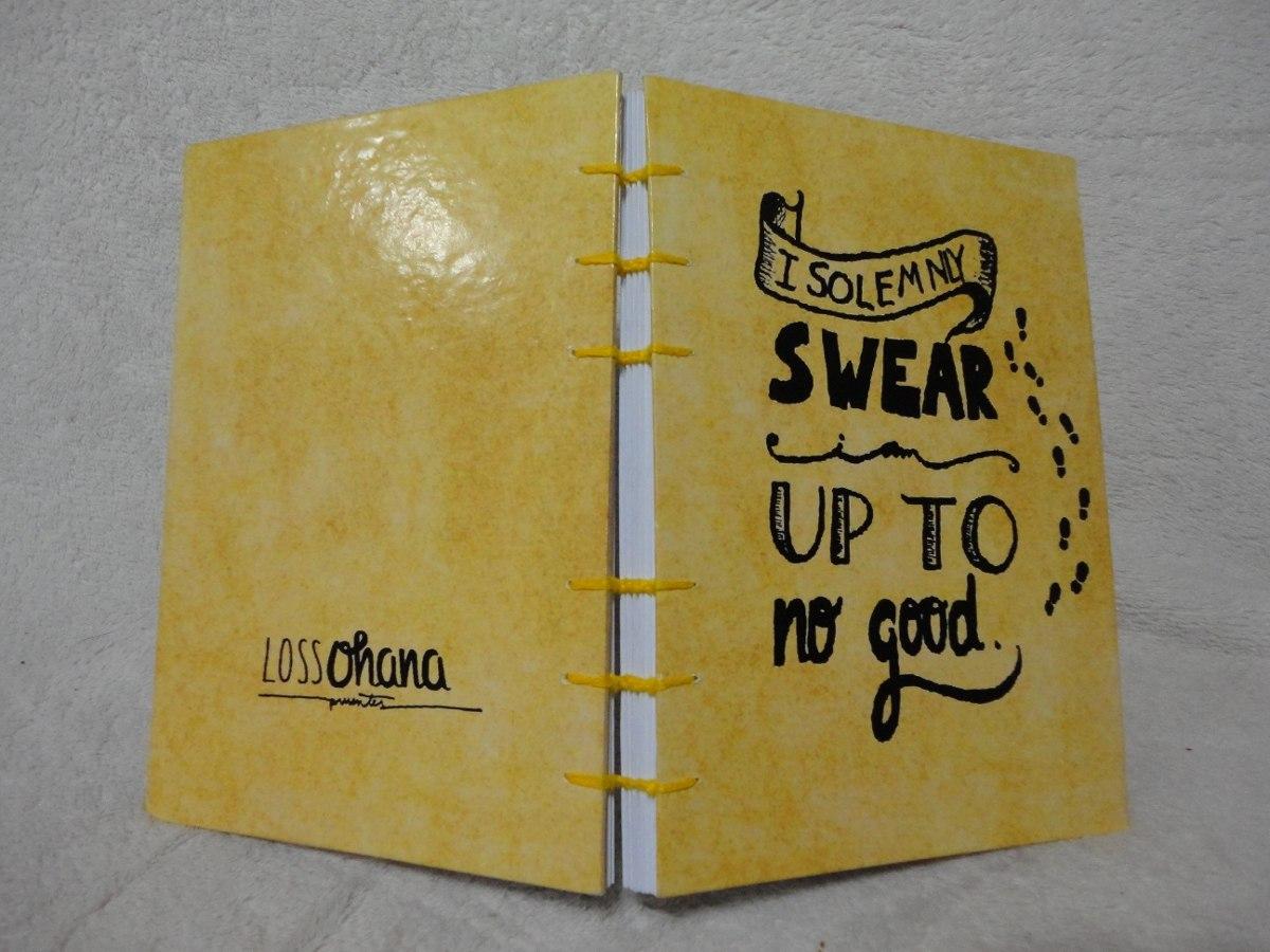 El Armario Que Plancha ~ Harry Potter Got Caderno Artesanal Personalizado Frases R$ 49,00 em Mercado Livre