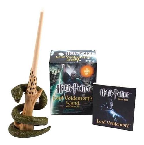 harry potter guia cinematografico + voldemort's wand sticker