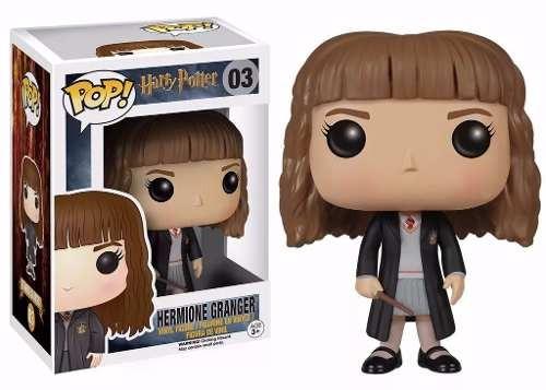 harry potter - hermione granger boneco pop da funko 10cms
