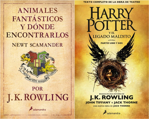 harry potter legado maldito + animales fantásticos