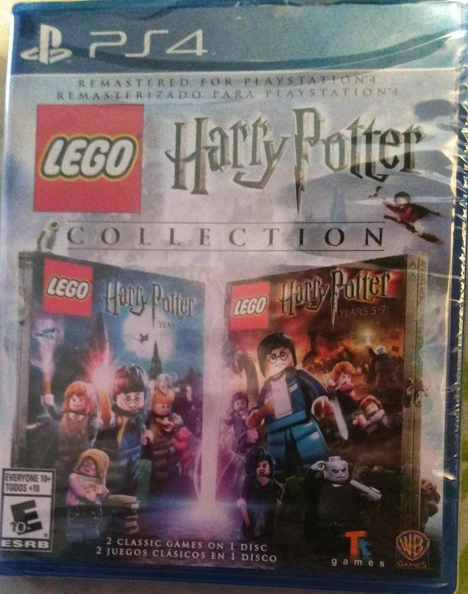 Harry Potter Lego Juego De Playstation 4 Nuevo Original