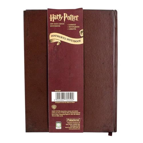 harry potter libreta pasta dura hogwarts envio gratis