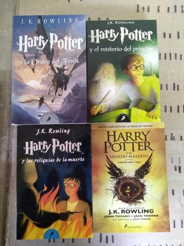 harry potter libros colección saga completa en oferta