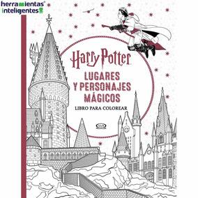 Harry Potter Lugares Y Personajes Mágicos Cuaderno Colorear