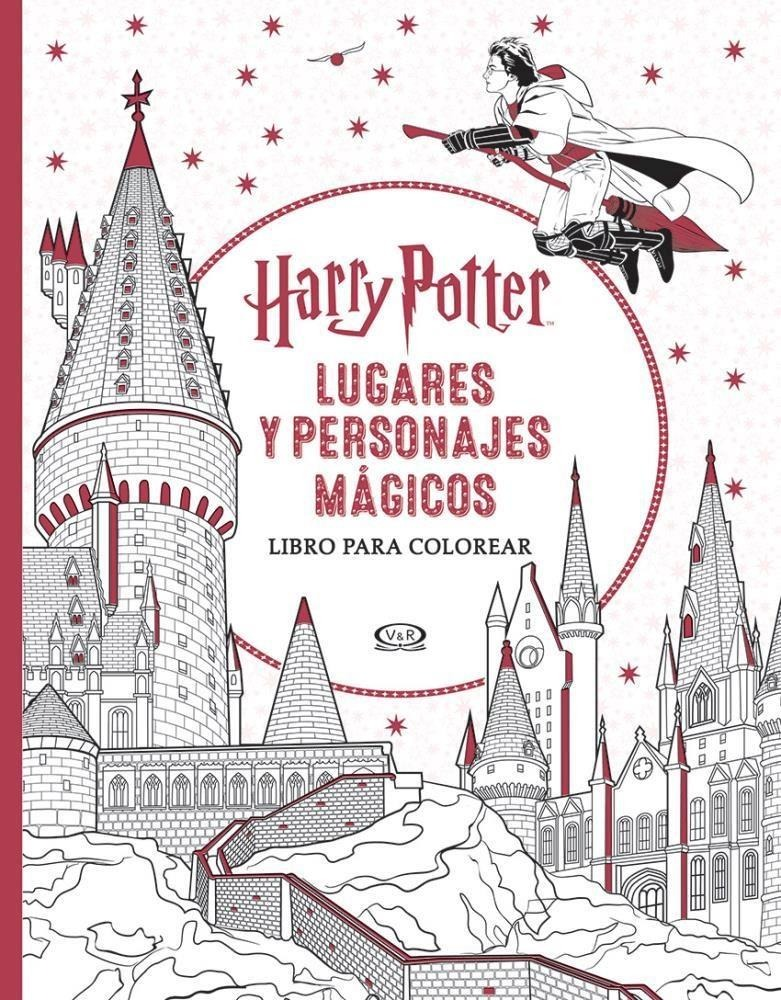 Harry Potter: Lugares Y Personajes Magicos - Para Colorear - $ 270 ...