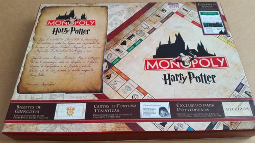 harry potter monopoly wizardpoly turista