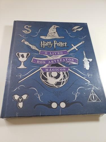harry potter: o livro dos artefatos mágicos - novo - lacrado