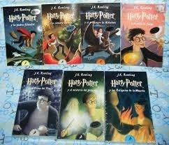 harry potter - obra completa - los 7 libros