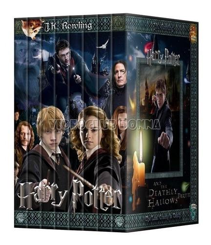 harry potter pack colección 8 peliculas en dvd saga completa