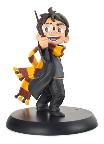 harry potter - q-fig mini estatua - qmx - robot negro