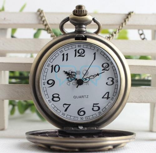 harry potter. reloj escudo de hogwarts qchvr