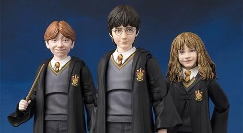 harry potter - ron wealey -  bandai - hermione   - funko pop