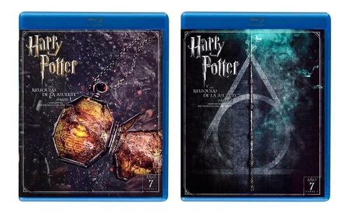 harry potter saga 1 - 8 peliculas originales blu-ray