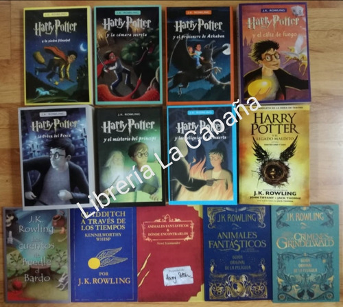 harry potter saga completa 13 libros en oferta