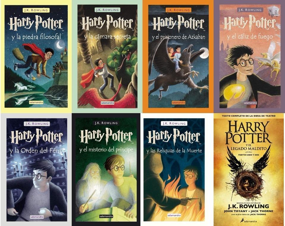 Harry Potter - Saga Completa - J. K. Rowling - Libro Pdf - S/ 8,00 En Mercado Libre @tataya.com.mx