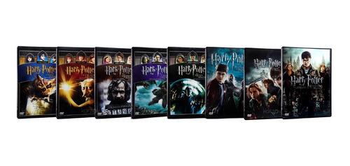 harry potter saga completa las 8 peliculas originales dvd