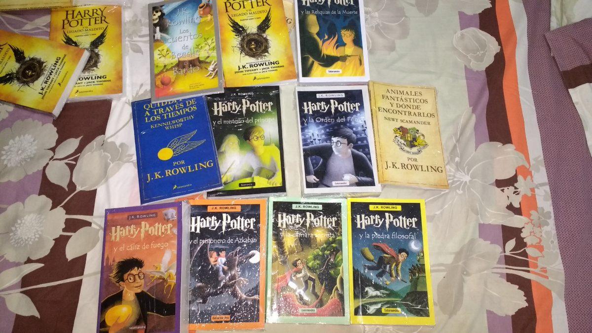 Harry Potter, Saga Libros En Fisico - Bs. 44,50 en Mercado