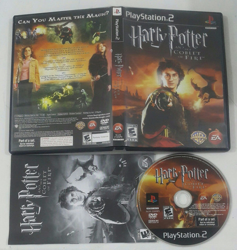 harry potter * the goblet of fire  / playstation 2 ps2