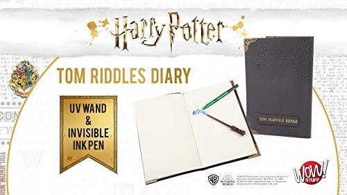 harry potter tom acertijo cuaderno de notas y varita invisib