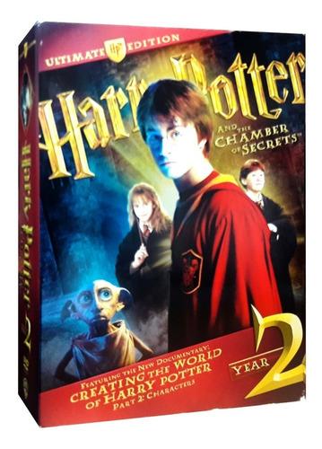 harry potter ultimate edition año 2 la camara secreta dvd