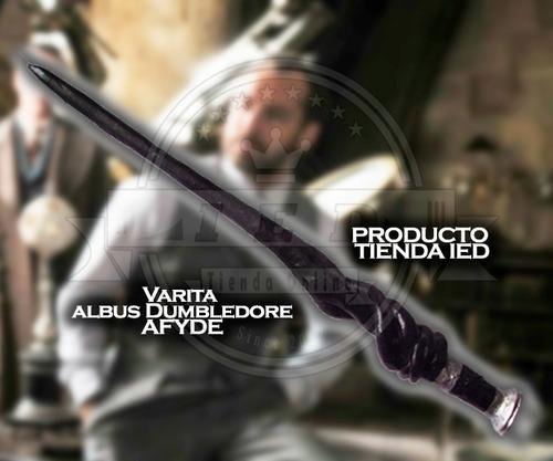 harry potter varita dumbledore crímenes de grindelwald