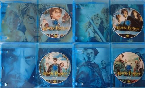 harry potter y animales fantasticos 1-2 saga bluray latino