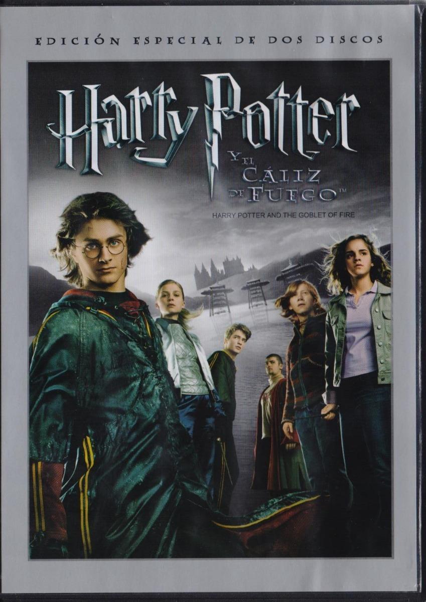 Harry Potter Y El Caliz De Fuego 2 Dos Discos Pelicula Dvd ...