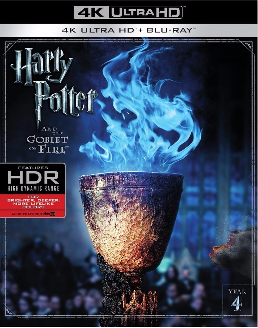Harry Potter Y El Cáliz De Fuego Pelicula 4k Blu-ray - $ 599.00 en ...