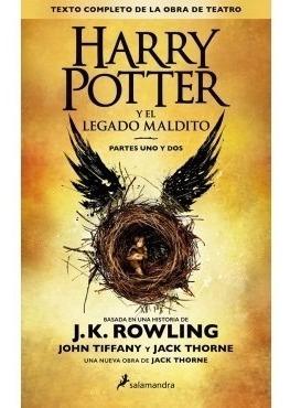 harry potter y el legado maldito (libro)