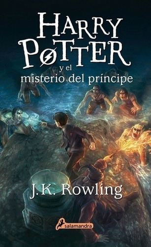 harry potter y el misterio del príncipe (tapa blanda) - j.k