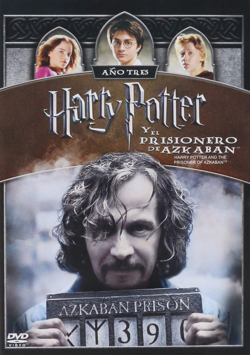 Harry Potter Y El Prisionero De Azkaban Año 3 Pelicula Dvd ...