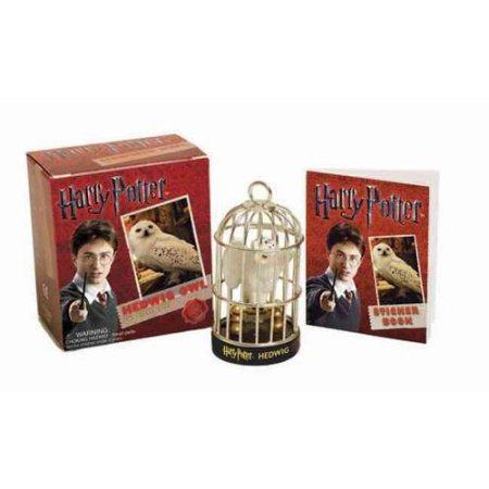 harry potter y hedwig búho pegatina libro