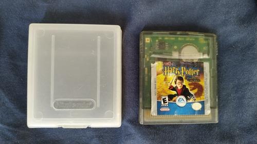 harry potter y la cámara secreta, juego de gameboy color