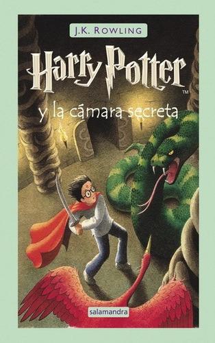 harry potter y la cámara secreta /  salamandra