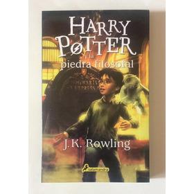 Harry Potter Y La Piedra Filosofal Libro Nuevo. Envíos