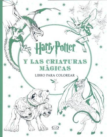 Harry Potter Y Las Criaturas Magicas. Libro Para Colorear - $ 270,00 ...